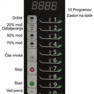 Mikrovalovna-Pecica-Menumaster-RMS510TS-zaslon-na-dotik